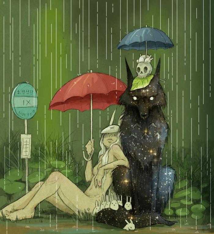 Chiara Bautista rain wolf